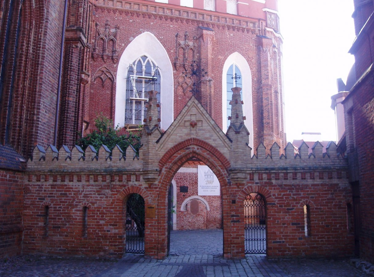 Vilnius, St. Anne\'s Church 11.JPG