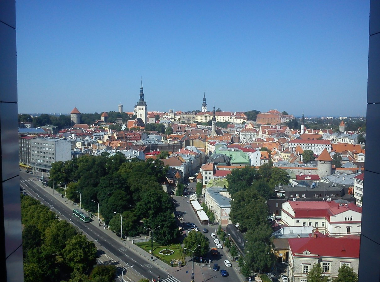Tallinn, View from the hotel.jpg