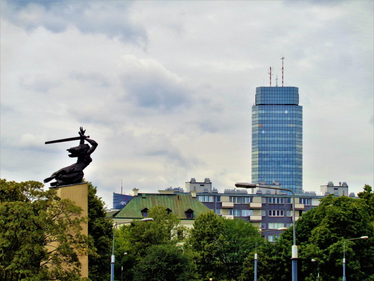 Warsaw, Ulica Miodowa 17 (Monument to the Heroes of Warsaw).JPG