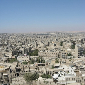 Aleppo, View over the Citadel