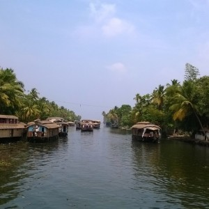 ALLEPPEY - BACK WATERS KERALA INDIA