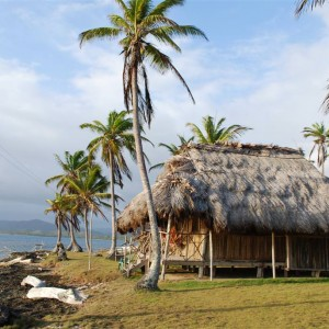 Our house in San Blas...