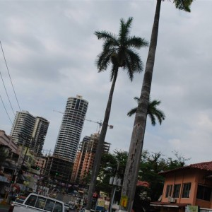 Panama City... the modern city...