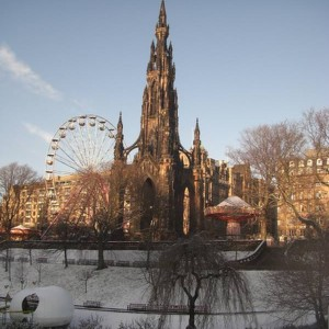 christmas in edinburgh!