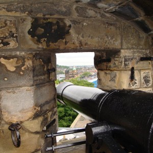 One of the Canons of Edinburgh Castle