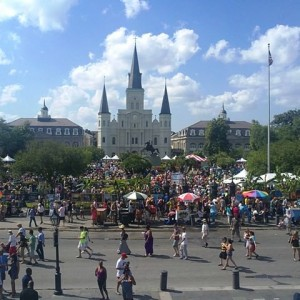 Cathedral, New Orleans, Louisiana, USA