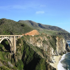 The Panamericana at Big Sur, CA