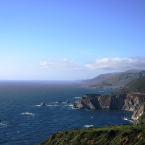 The Big Sur scenic drive