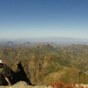 View of Simien Mountains